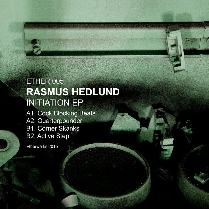 Cover art - Rasmus Hedlund: Initiation EP