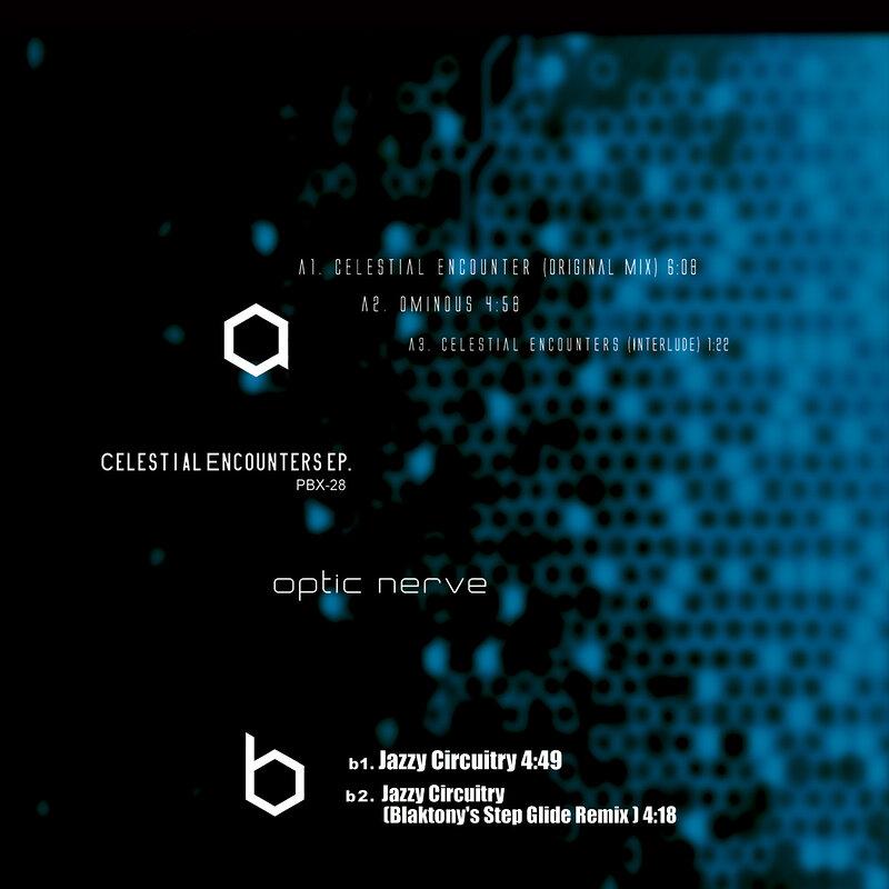 Cover art - Optic Nerve: Celestial Encounters EP