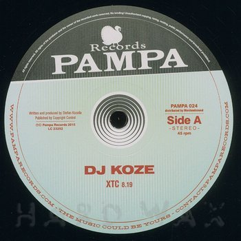 Cover art - DJ Koze: XTC