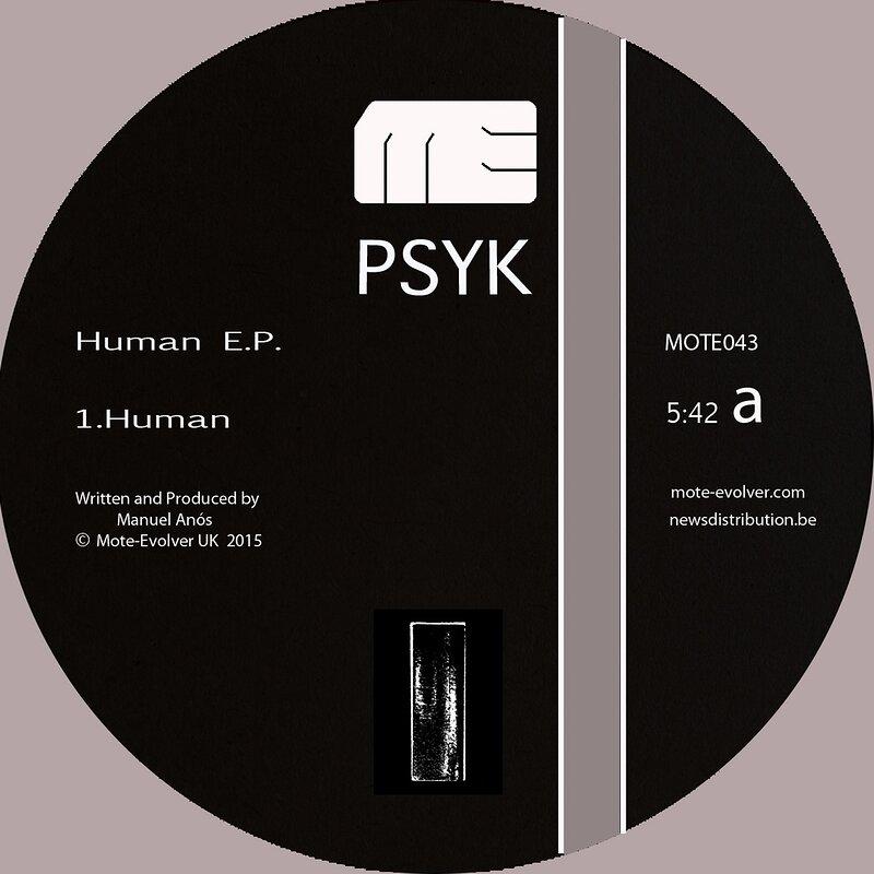 Cover art - Psyk: Human