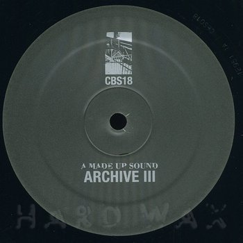 Cover art - A Made Up Sound: Archive III