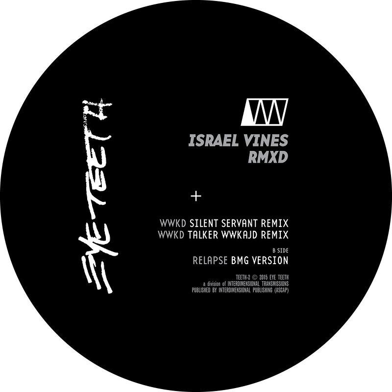 Cover art - Israel Vines: RMXD