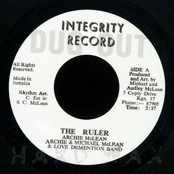 Cover art - Archie McLean: The Ruler