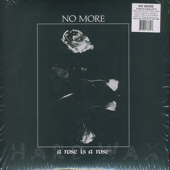 Cover art - No More: A Rose Is A Rose