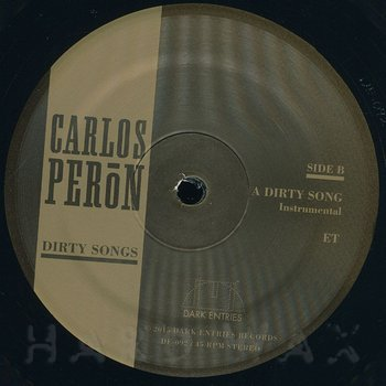 Cover art - Carlos Peron: Dirty Songs