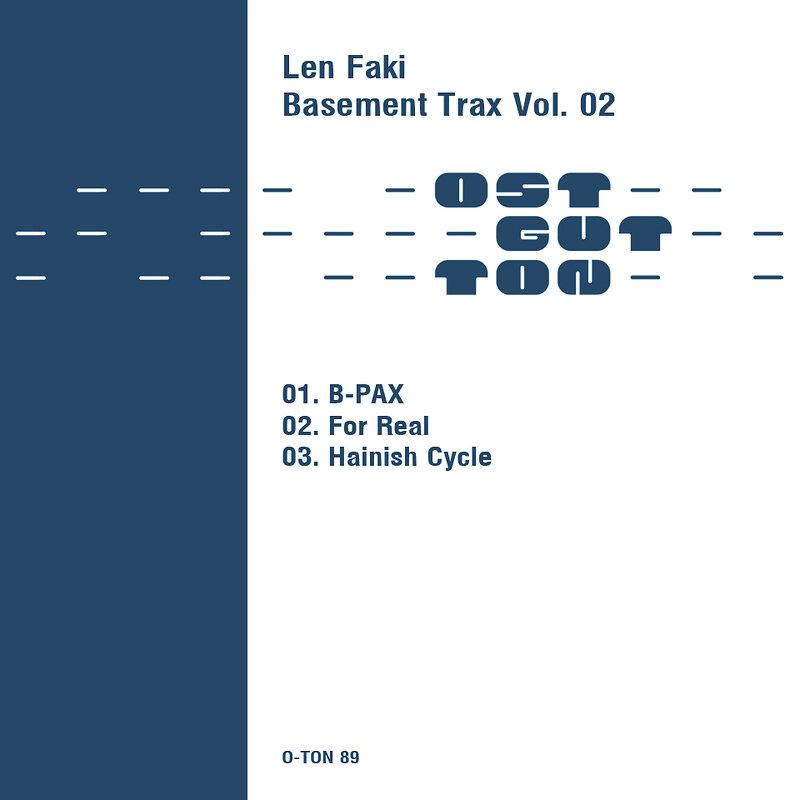 Cover art - Len Faki: B-Pax
