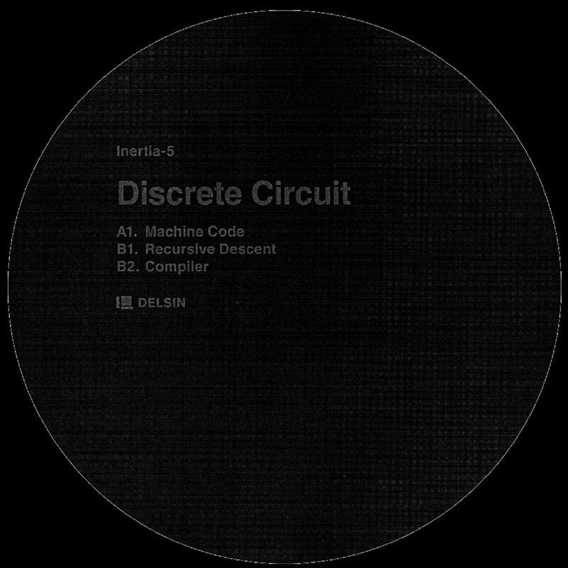 Cover art - Discrete Circuit: Machine Code EP