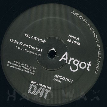 Cover art - TB Arthur: Dubs From The DAT