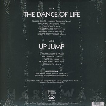 Cover art - James Mason: The Dance Of Life