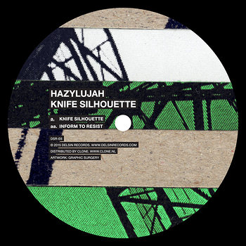 Cover art - Hazylujah: Knife Silhouette