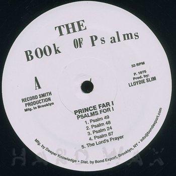 Cover art - Prince Far I: Psalms For I