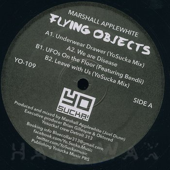 Cover art - Marshall Applewhite: Flying Objects