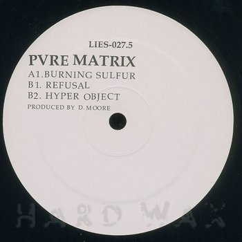 Cover art - Pvre Matrix: Burning Sulfur