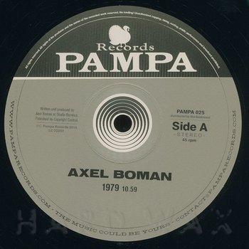 Cover art - Axel Boman: 1979