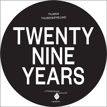 Cover art - Tilman Tausendfreund: Twenty Nine Years