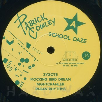 Cover art - Patrick Cowley: School Daze