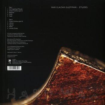 Cover art - Yair Elazar Glotman: Études