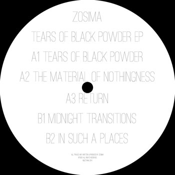 Cover art - Zosima: Tears Of Black Powder EP
