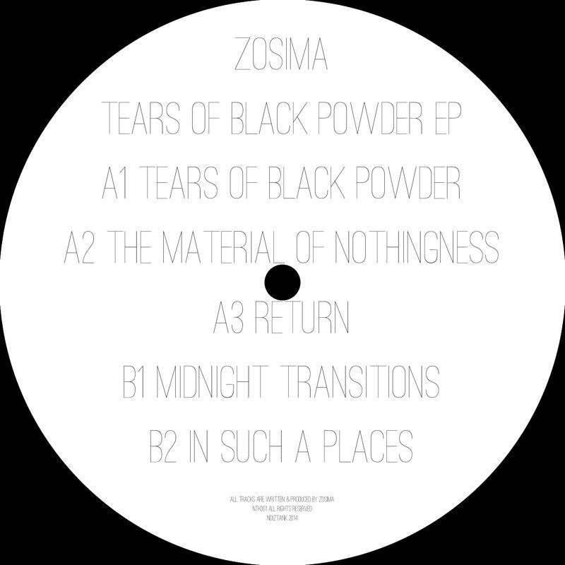 Cover art - Zosima: Tears Of Black Powder EP