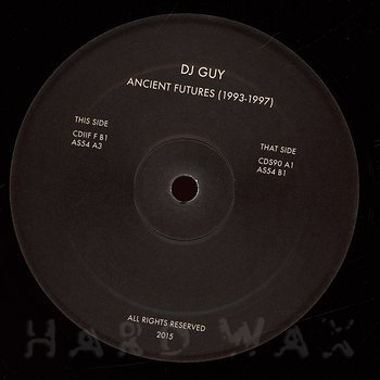 Cover art - DJ Guy: Ancient Future 1993-1997