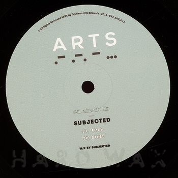 Cover art - Subjected: Steel EP