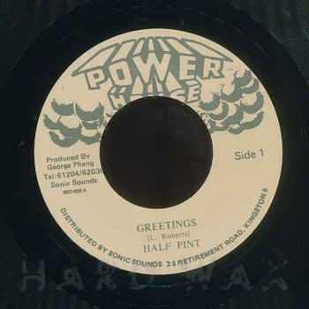 Half pint greetings hard wax cover art half pint greetings m4hsunfo