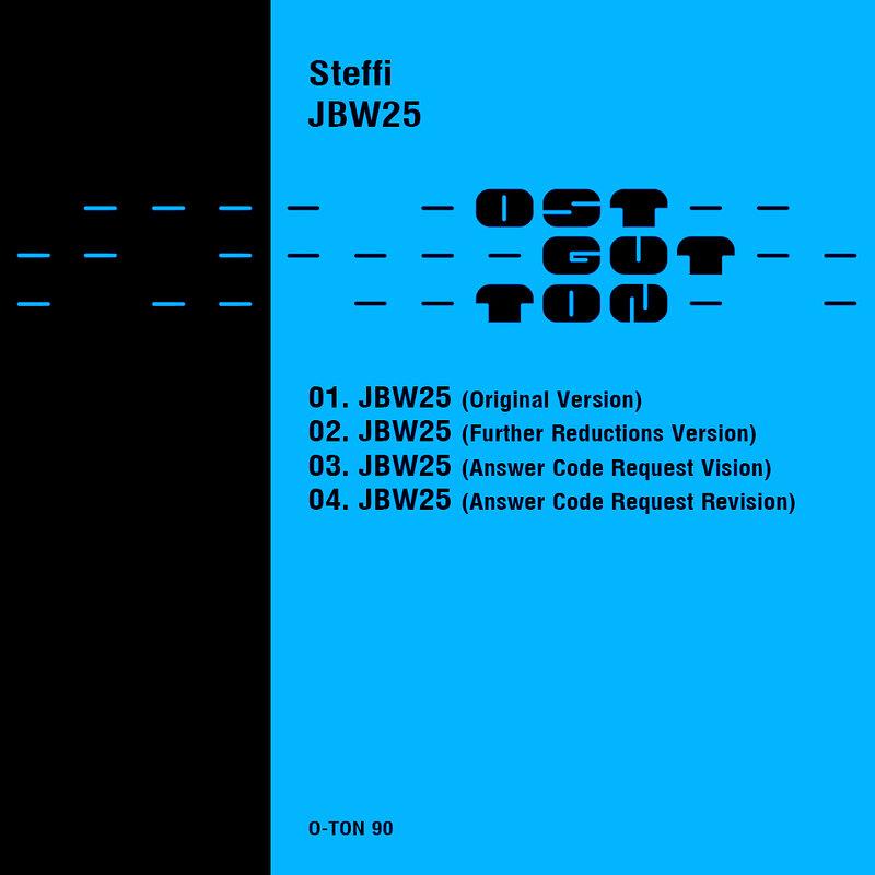 Cover art - Steffi: JBW25