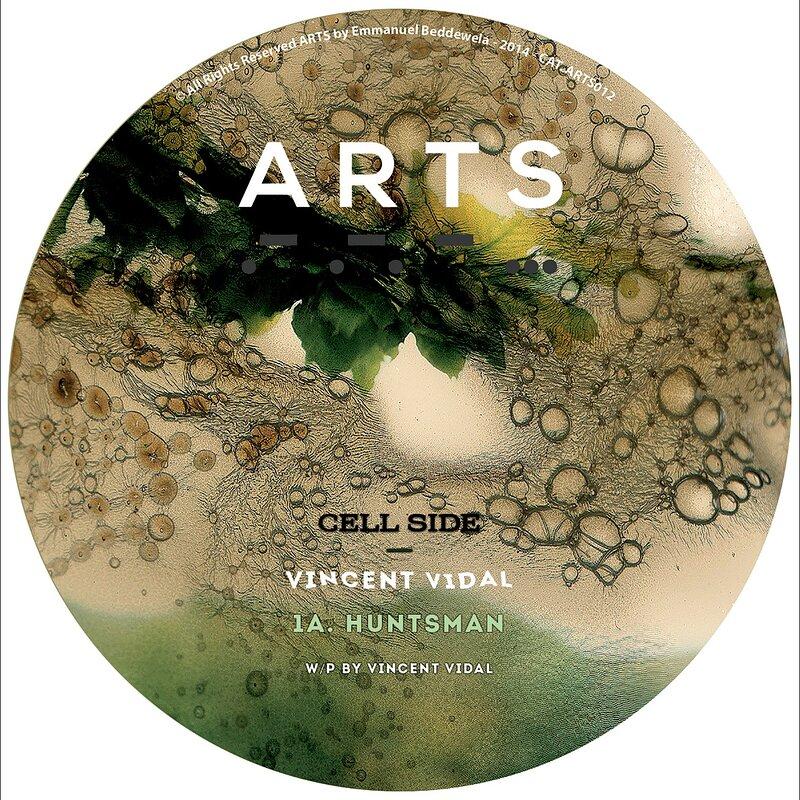 Cover art - Vincent Vidal: Ritual