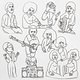 Cover art - Romare: Rainbows