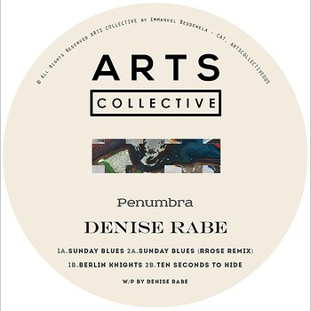 Cover art - Denise Rabe: Penumbra