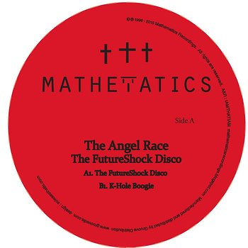 Cover art - The Angel Race: The FutureShock Disco