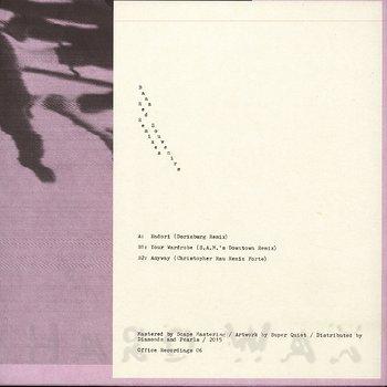 Cover art - Baaz: Red Souvenirs Remixes