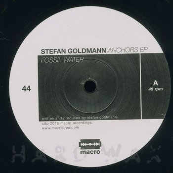 Cover art - Stefan Goldmann: Anchors EP