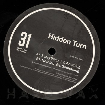 Cover art - Hidden Turn: Expect EP