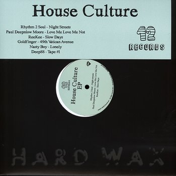 Cover art - Various Artists: House Culture EP