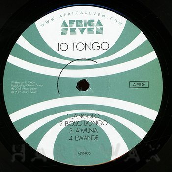 Cover art - Jo Tongo: Jo Tongo