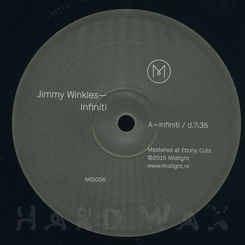 Cover art - Jimmy Winkles: Infiniti