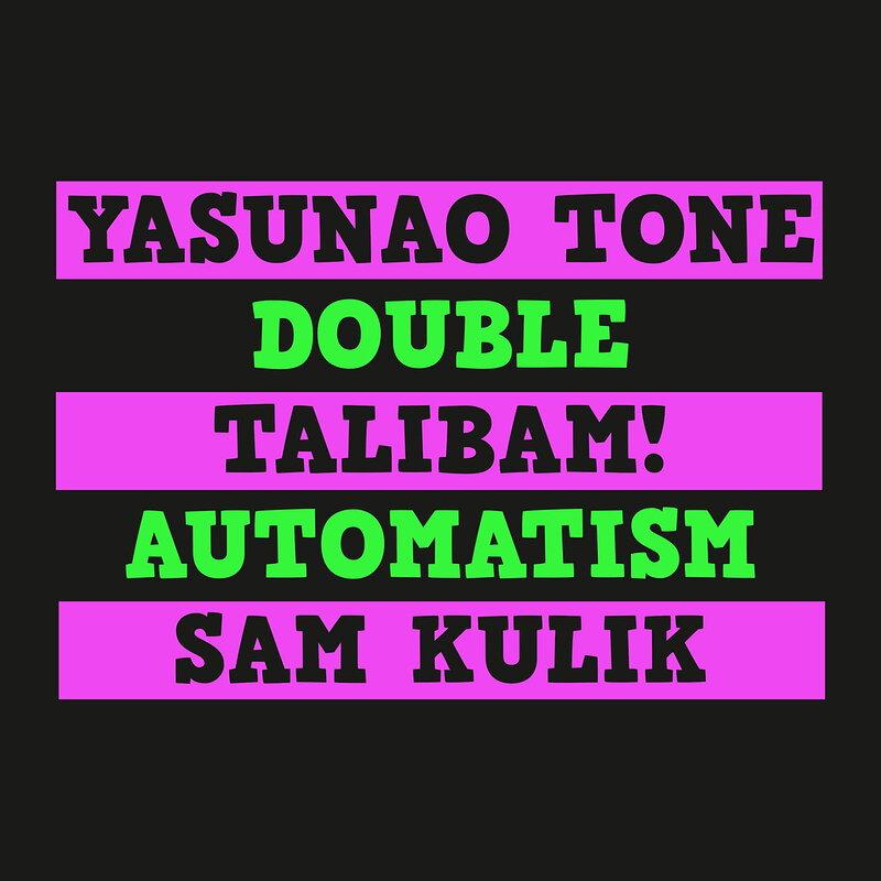 Cover art - Talibam! + Yasunao Tone + Sam Kulik: Double Automatism