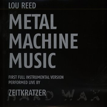 Cover art - Lou Reed: Metal Machine Music