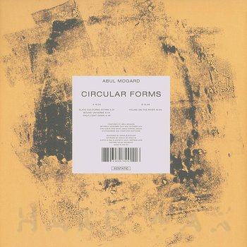 Cover art - Abul Mogard: Circular Forms