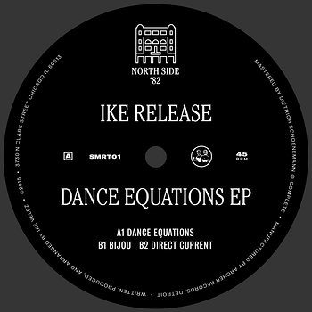 Cover art - Ike Release: Dance Equations EP