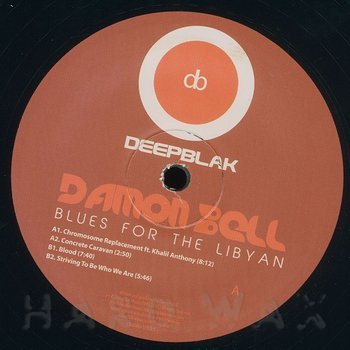 Cover art - Damon Bell: Blues For The Libyan