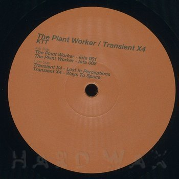 Cover art - The Plant Worker / Transient X4: KTT