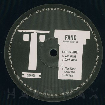Cover art - Fang: A House Fang EP