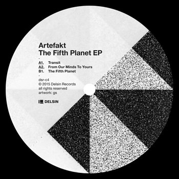 Cover art - Artefakt: The Fifth Planet EP
