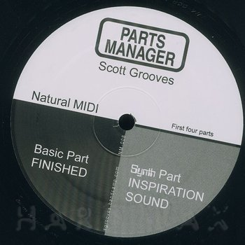 Cover art - Scott Grooves: Parts Manager