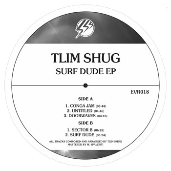 Cover art - Tlim Shug: Surf Dude EP