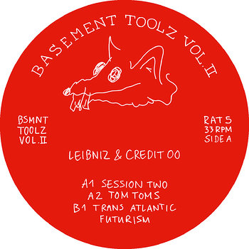 Cover art - Leibniz & Credit 00: Basement Toolz Vol. II