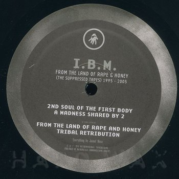 Cover art - I.B.M.: From The Land Of Rape And Honey (The Suppressed Tapes)