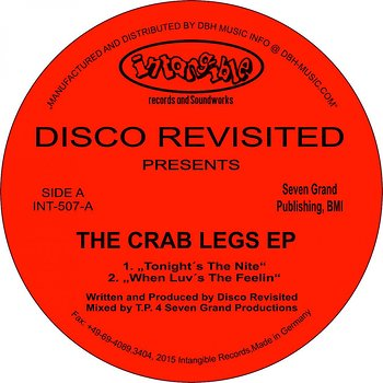 Cover art - Disco Revisited: The Crab Legs EP
